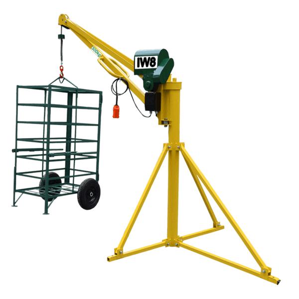 Mini Grua 300 kg para Obras