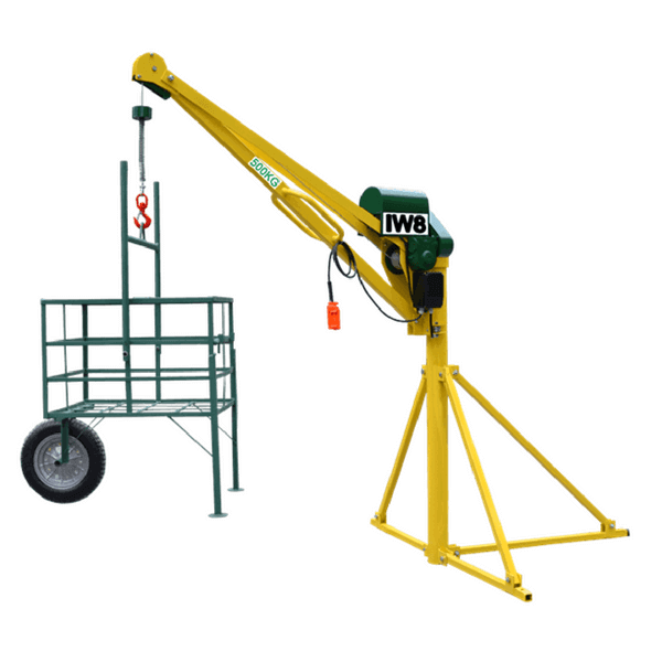 Mini Grua 500 kg para Obras