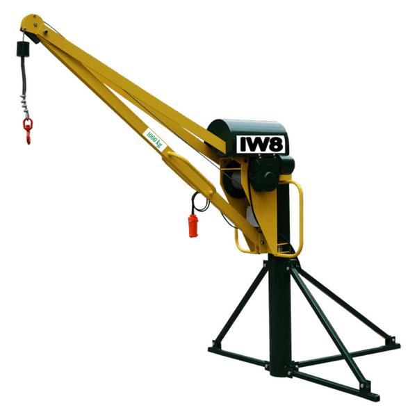 Mini Grua 1000 kg para Obras